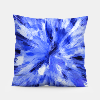 Thumbnail image of color explosion gogh pattern godb Pillow, Live Heroes