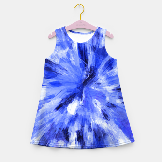 Thumbnail image of color explosion gogh pattern godb Girl's summer dress, Live Heroes