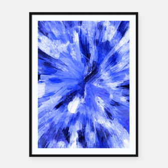 Thumbnail image of color explosion gogh pattern godb Framed poster, Live Heroes