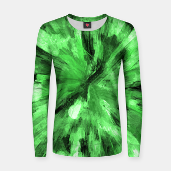 Thumbnail image of color explosion gogh pattern gode Women sweater, Live Heroes