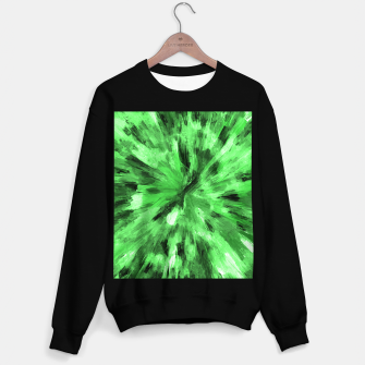 Thumbnail image of color explosion gogh pattern gode Sweater regular, Live Heroes