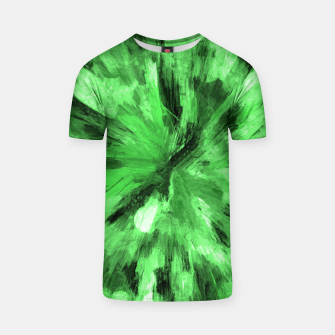 Thumbnail image of color explosion gogh pattern gode T-shirt, Live Heroes