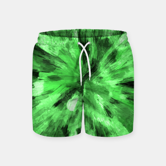 Thumbnail image of color explosion gogh pattern gode Swim Shorts, Live Heroes