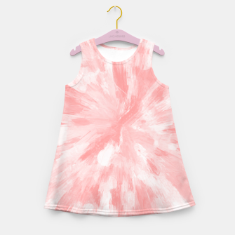 Thumbnail image of color explosion gogh pattern gopw Girl's summer dress, Live Heroes