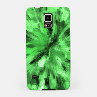 Thumbnail image of color explosion gogh pattern gode Samsung Case, Live Heroes
