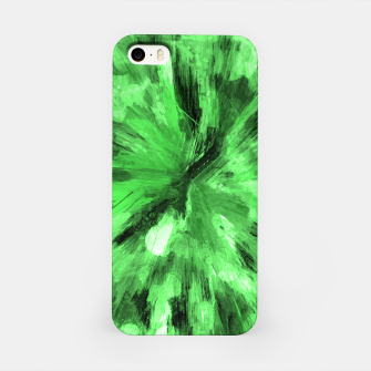 Thumbnail image of color explosion gogh pattern gode iPhone Case, Live Heroes