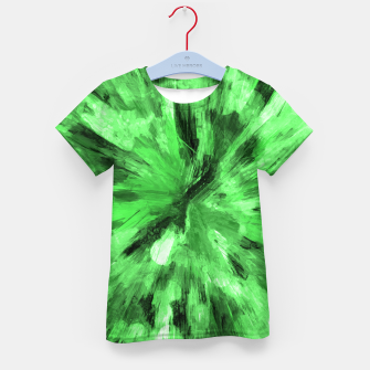 Thumbnail image of color explosion gogh pattern gode Kid's t-shirt, Live Heroes