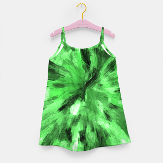 Thumbnail image of color explosion gogh pattern gode Girl's dress, Live Heroes