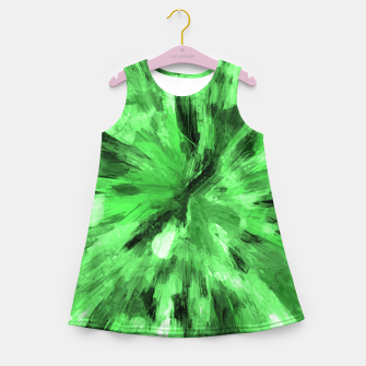 Thumbnail image of color explosion gogh pattern gode Girl's summer dress, Live Heroes
