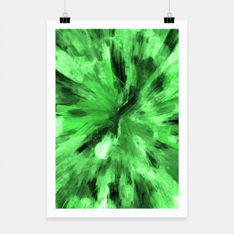 Thumbnail image of color explosion gogh pattern gode Poster, Live Heroes