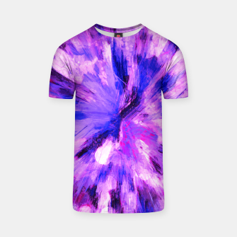 Thumbnail image of color explosion gogh pattern gomag T-shirt, Live Heroes