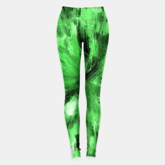 Thumbnail image of color explosion gogh pattern gode Leggings, Live Heroes
