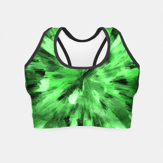 Thumbnail image of color explosion gogh pattern gode Crop Top, Live Heroes