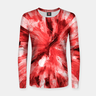 Thumbnail image of color explosion gogh pattern godr Women sweater, Live Heroes