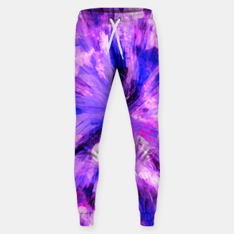 Thumbnail image of color explosion gogh pattern gomag Sweatpants, Live Heroes