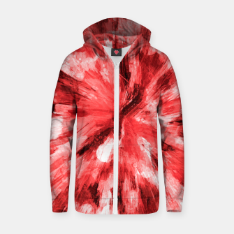Thumbnail image of color explosion gogh pattern godr Zip up hoodie, Live Heroes