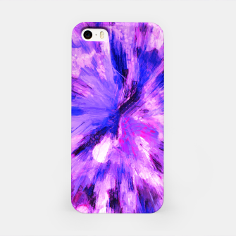 Thumbnail image of color explosion gogh pattern gomag iPhone Case, Live Heroes
