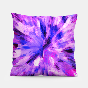 Thumbnail image of color explosion gogh pattern gomag Pillow, Live Heroes