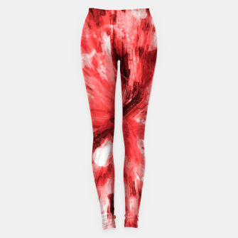 Thumbnail image of color explosion gogh pattern godr Leggings, Live Heroes
