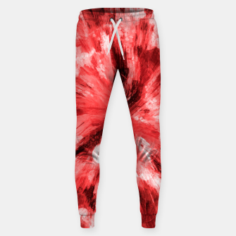 Thumbnail image of color explosion gogh pattern godr Sweatpants, Live Heroes