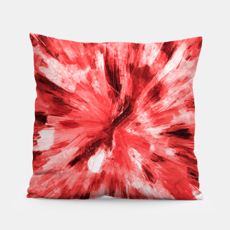 Thumbnail image of color explosion gogh pattern godr Pillow, Live Heroes