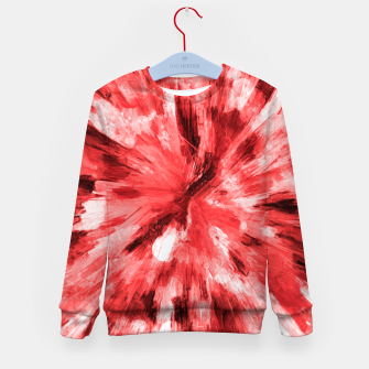 Thumbnail image of color explosion gogh pattern godr Kid's sweater, Live Heroes