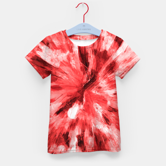 Thumbnail image of color explosion gogh pattern godr Kid's t-shirt, Live Heroes