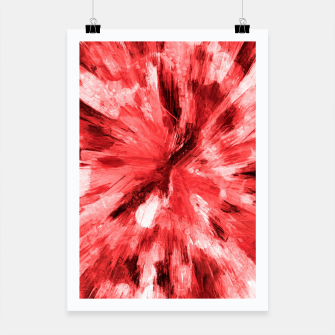 Thumbnail image of color explosion gogh pattern godr Poster, Live Heroes