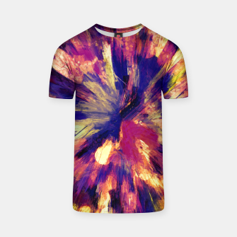 Thumbnail image of color explosion gogh pattern gols T-shirt, Live Heroes