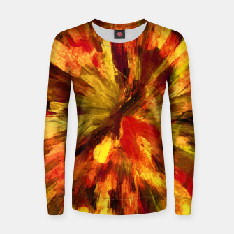 Thumbnail image of color explosion gogh pattern goee Women sweater, Live Heroes
