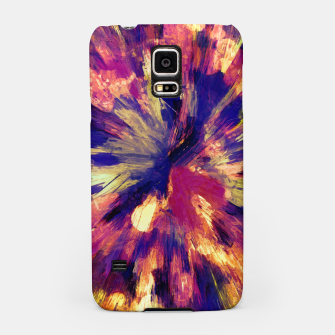 Thumbnail image of color explosion gogh pattern gols Samsung Case, Live Heroes