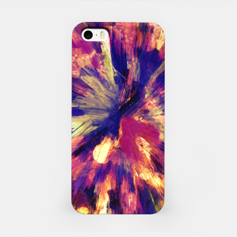 Thumbnail image of color explosion gogh pattern gols iPhone Case, Live Heroes