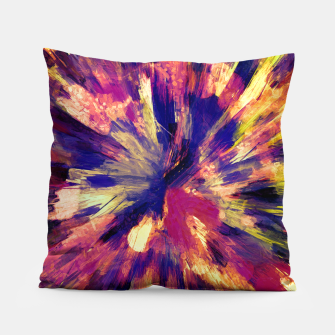 Miniaturka color explosion gogh pattern gols Pillow, Live Heroes