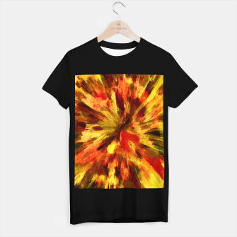 Thumbnail image of color explosion gogh pattern goee T-shirt regular, Live Heroes