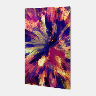 Thumbnail image of color explosion gogh pattern gols Canvas, Live Heroes