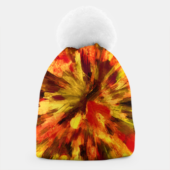 Thumbnail image of color explosion gogh pattern goee Beanie, Live Heroes