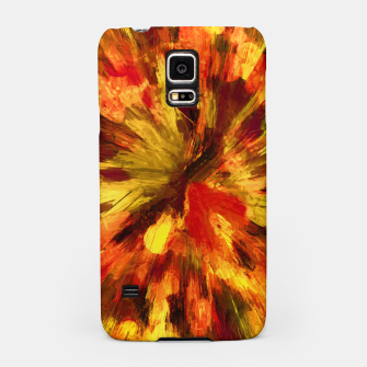 Thumbnail image of color explosion gogh pattern goee Samsung Case, Live Heroes