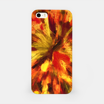 Thumbnail image of color explosion gogh pattern goee iPhone Case, Live Heroes