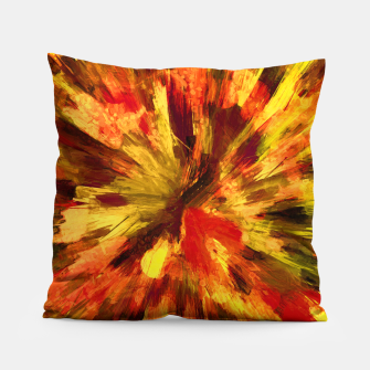 Thumbnail image of color explosion gogh pattern goee Pillow, Live Heroes