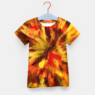 Thumbnail image of color explosion gogh pattern goee Kid's t-shirt, Live Heroes