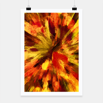 Thumbnail image of color explosion gogh pattern goee Poster, Live Heroes