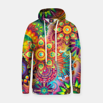 Thumbnail image of Colorful Psychedelic Hoodie, Live Heroes