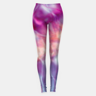 Thumbnail image of Pink blue abstract Leggings, Live Heroes