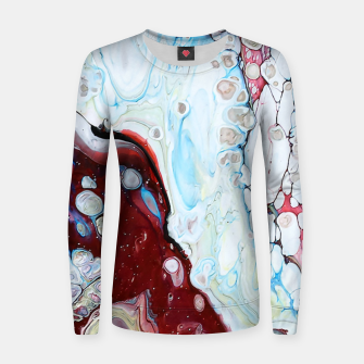 Miniatur Abstract Drop Women sweater, Live Heroes