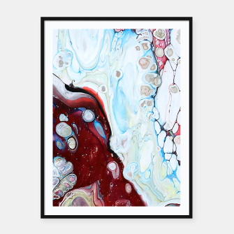 Miniatur Abstract Drop Framed poster, Live Heroes