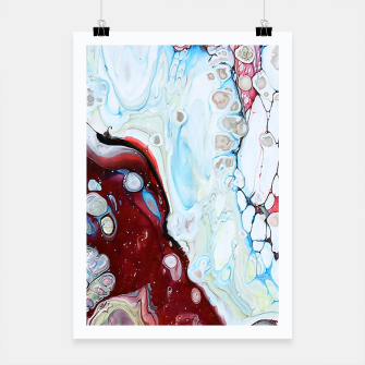 Miniatur Abstract Drop Poster, Live Heroes