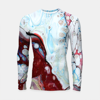 Miniatur Abstract Drop Longsleeve rashguard , Live Heroes