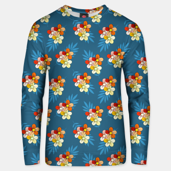 Thumbnail image of Summer Wind Floral Pattern Unisex sweater, Live Heroes