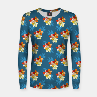 Thumbnail image of Summer Wind Floral Pattern Women sweater, Live Heroes