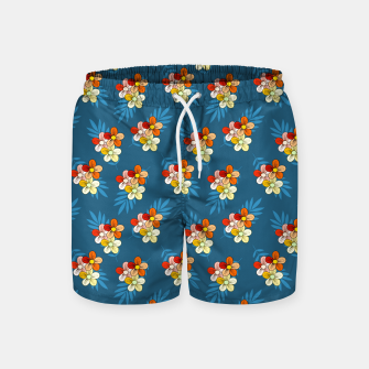 Thumbnail image of Summer Wind Floral Pattern Swim Shorts, Live Heroes
